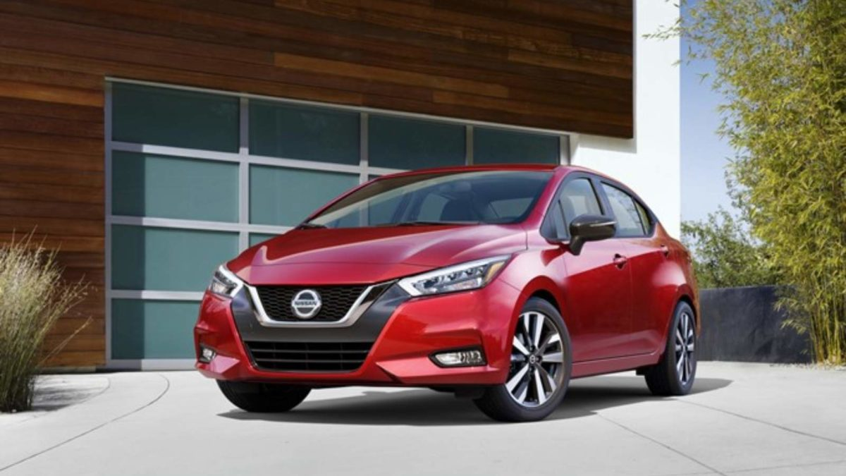 2020 Nissan Sunny front quarter low