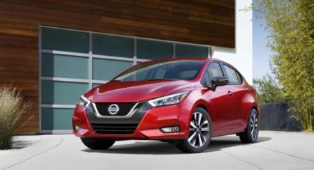 2020 Nissan Sunny front quarter low