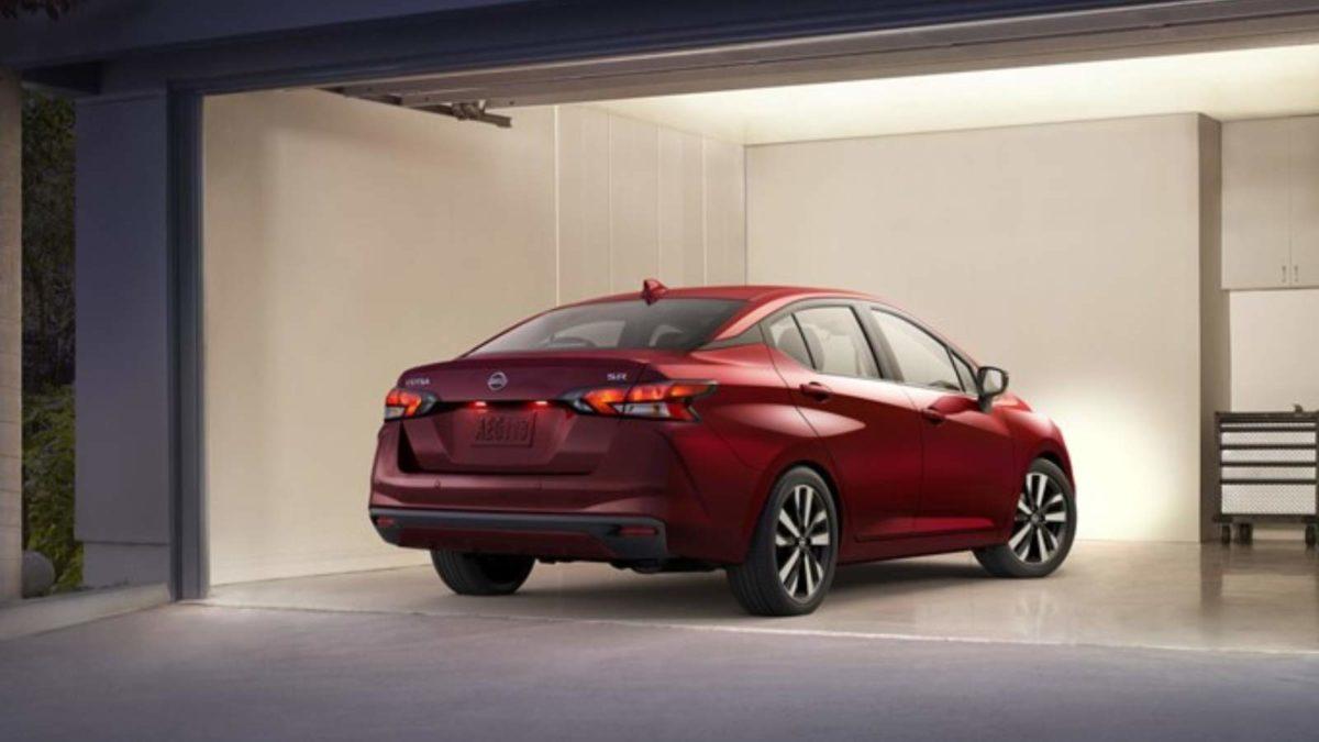 2020 Nissan Sunny rear quarter low
