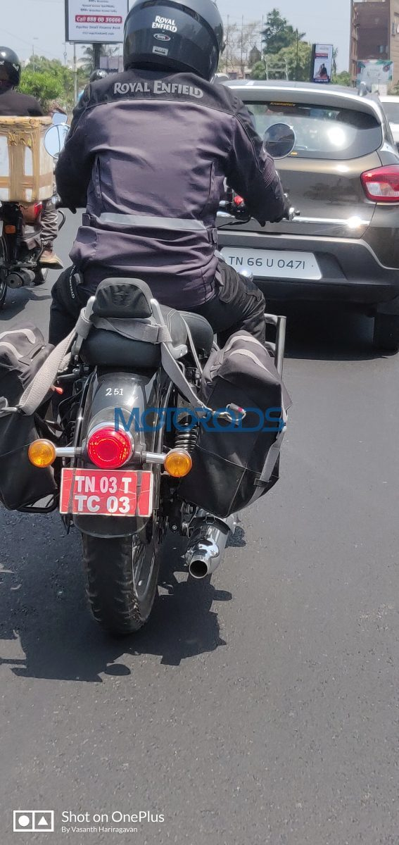 2020 Royal Enfield Classic Rear Spied