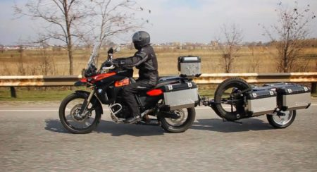 Adventure Motorcycle Trailer