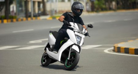 Ather 450 rolling front