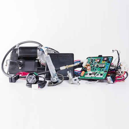 AutoMate AutoClutch components