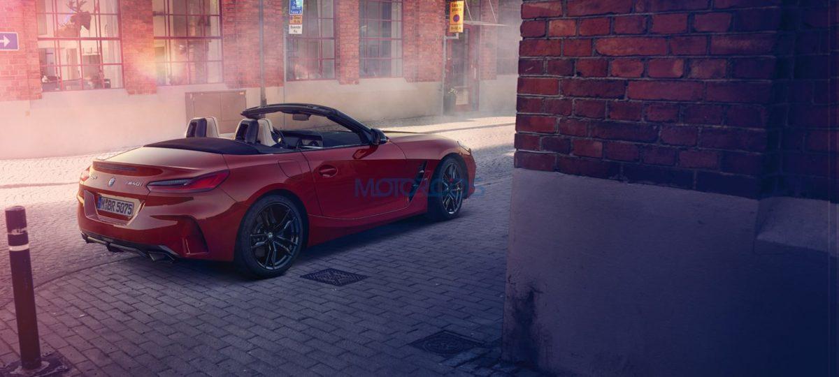 BMW Z4 India Rear
