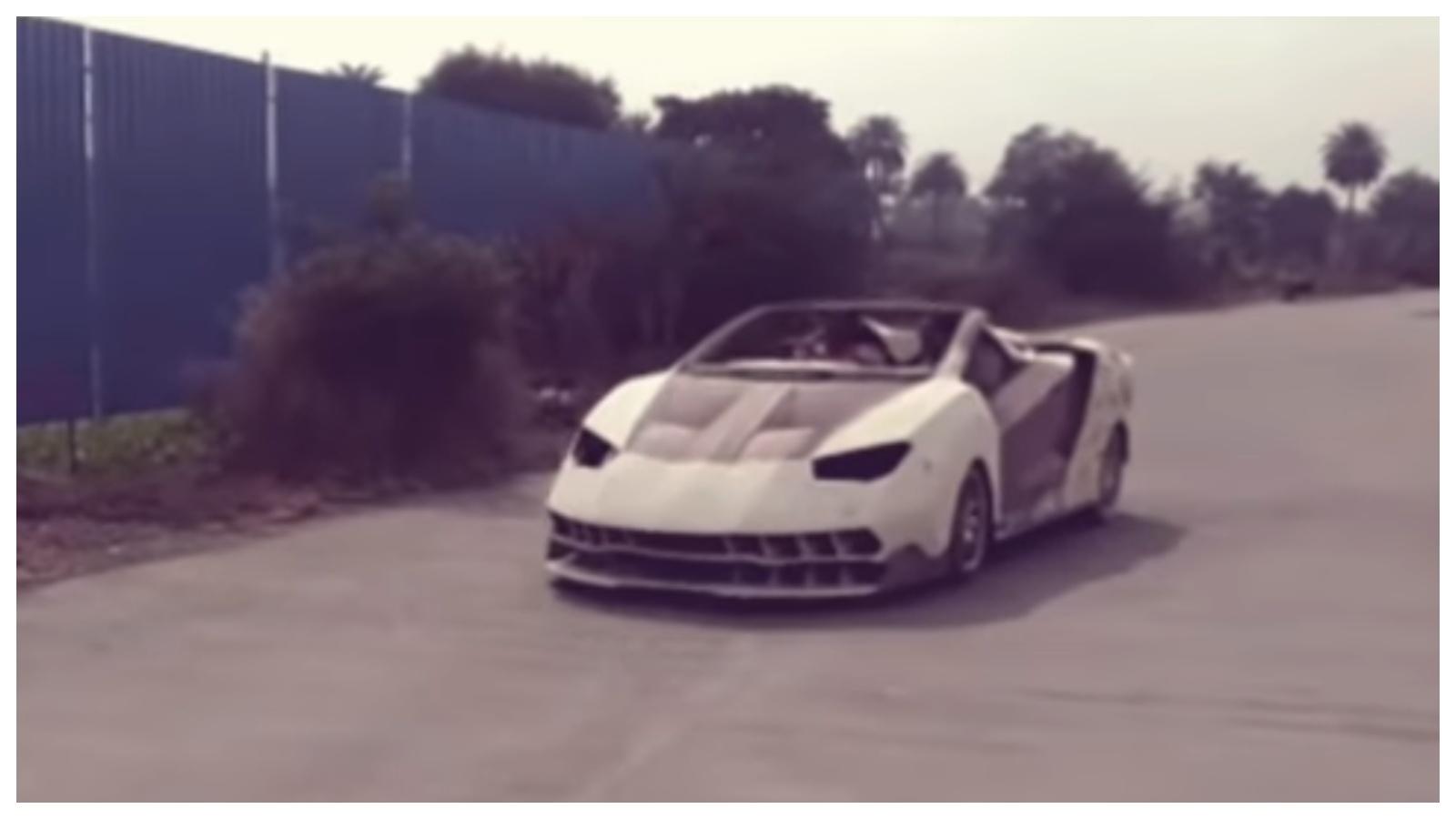 Honda City Modded Into A Lamborghini Centenario Motoroids
