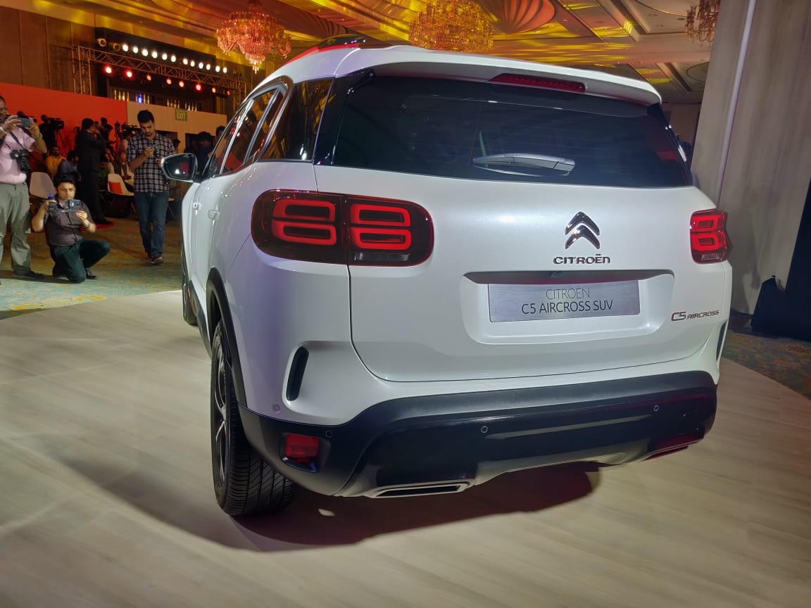 Citroen C5 Aircross India rear taillights