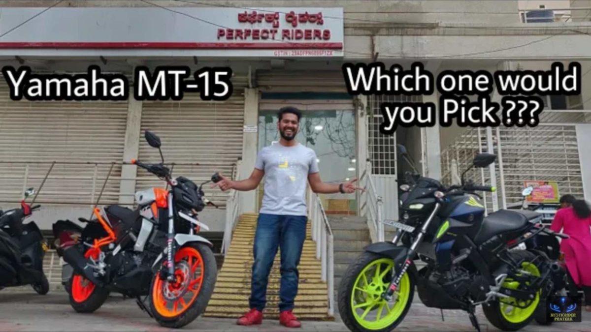 Dealer modified Yamaha MT 15