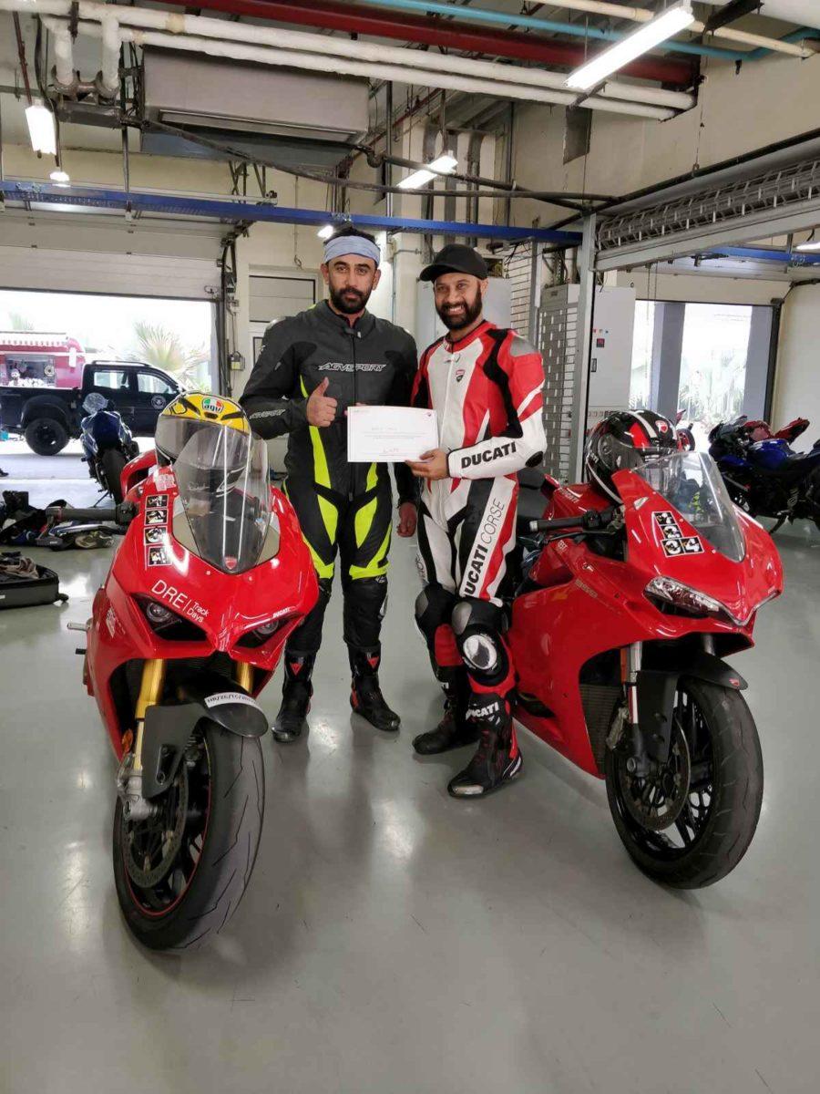 Ducati DRE Track Rider Training pits