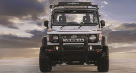 Force Gurkha Xplorer front view