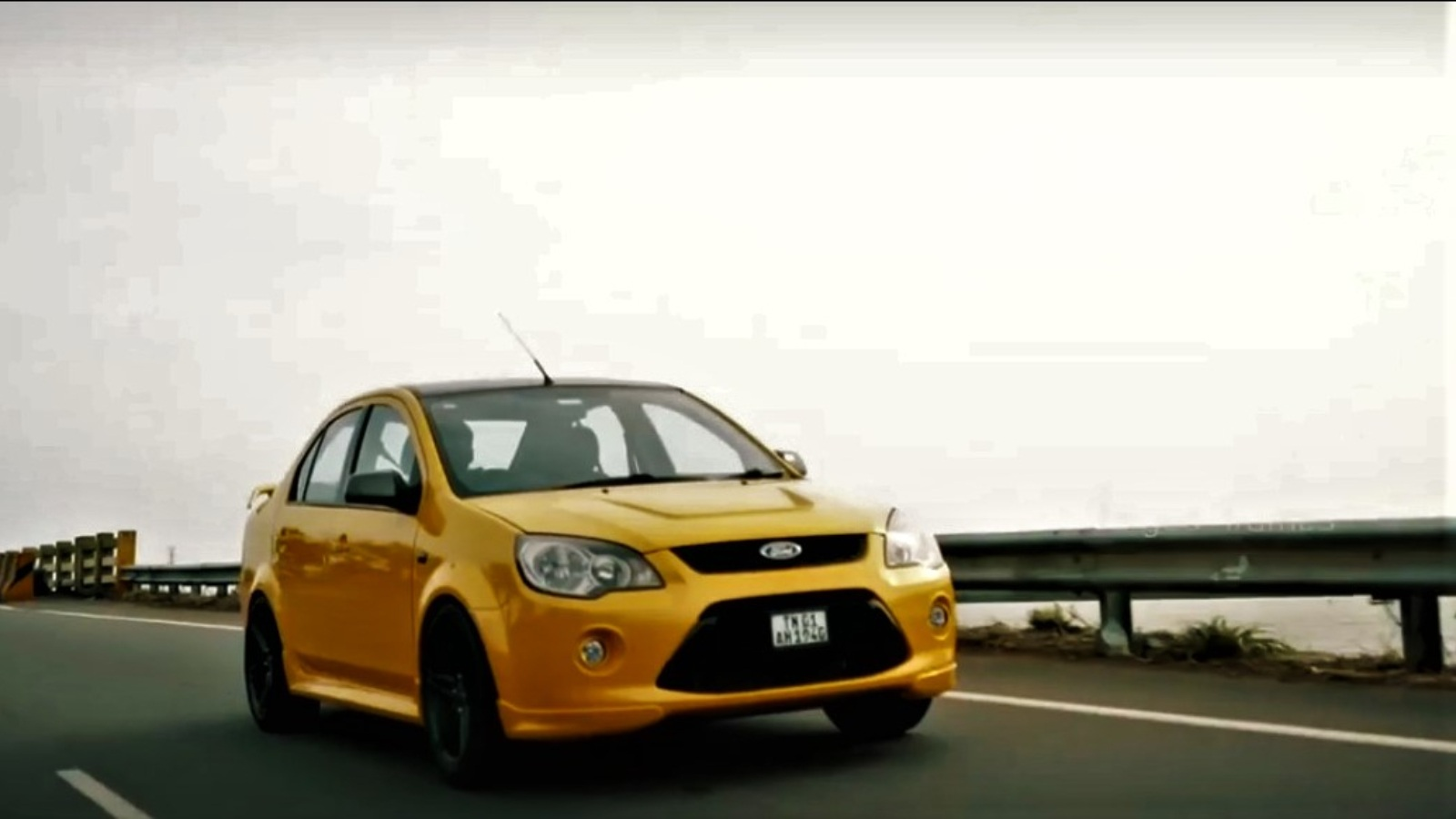 This Modified Ford Fiesta Looks Like Honey And Drives Like A Bee