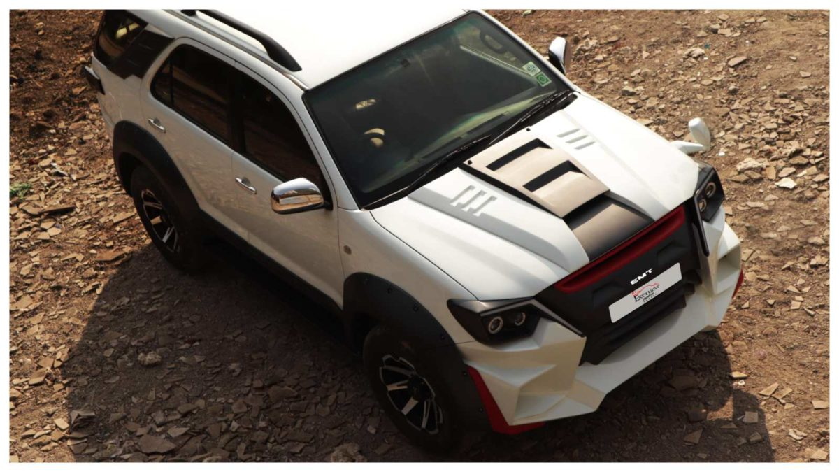 Fortuner mod top view