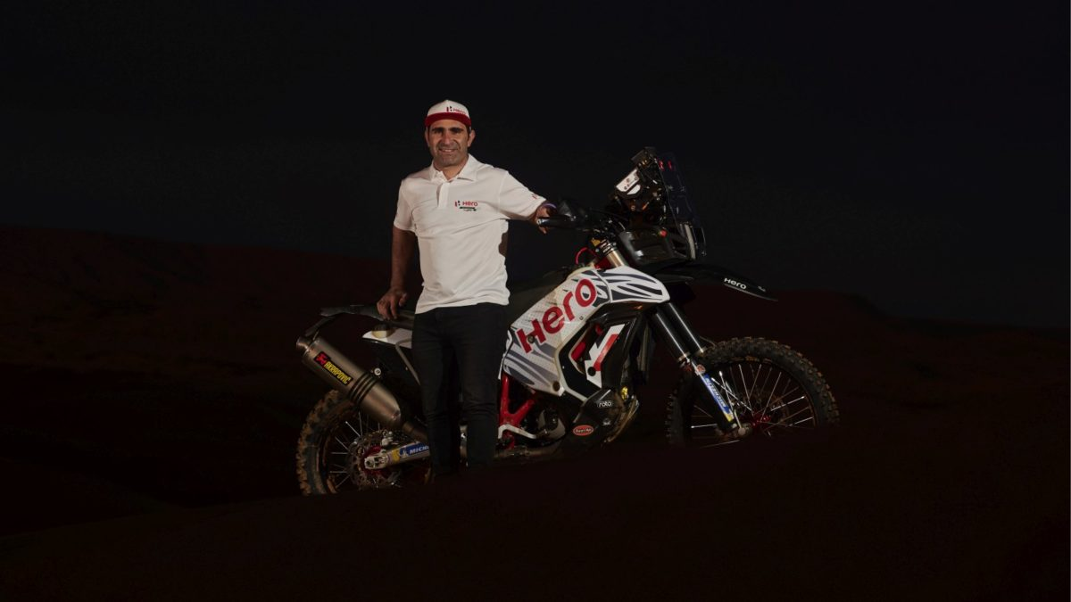 Hero MotoSports Brings on Board Top Rally Rider Paulo Goncalves as its Fourth Rider