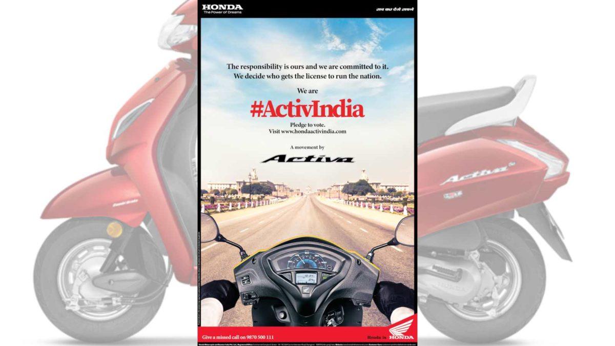 Honda ActivIndia Movement Featured