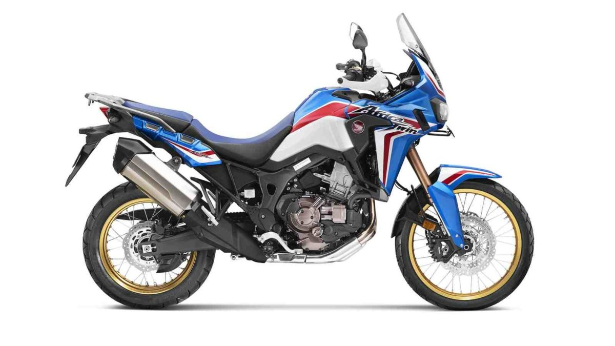 Honda Africa Twin Blue and Gold