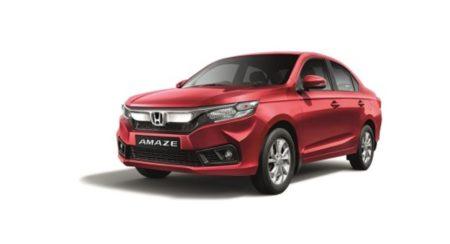 Honda Amaze VX CVT launched
