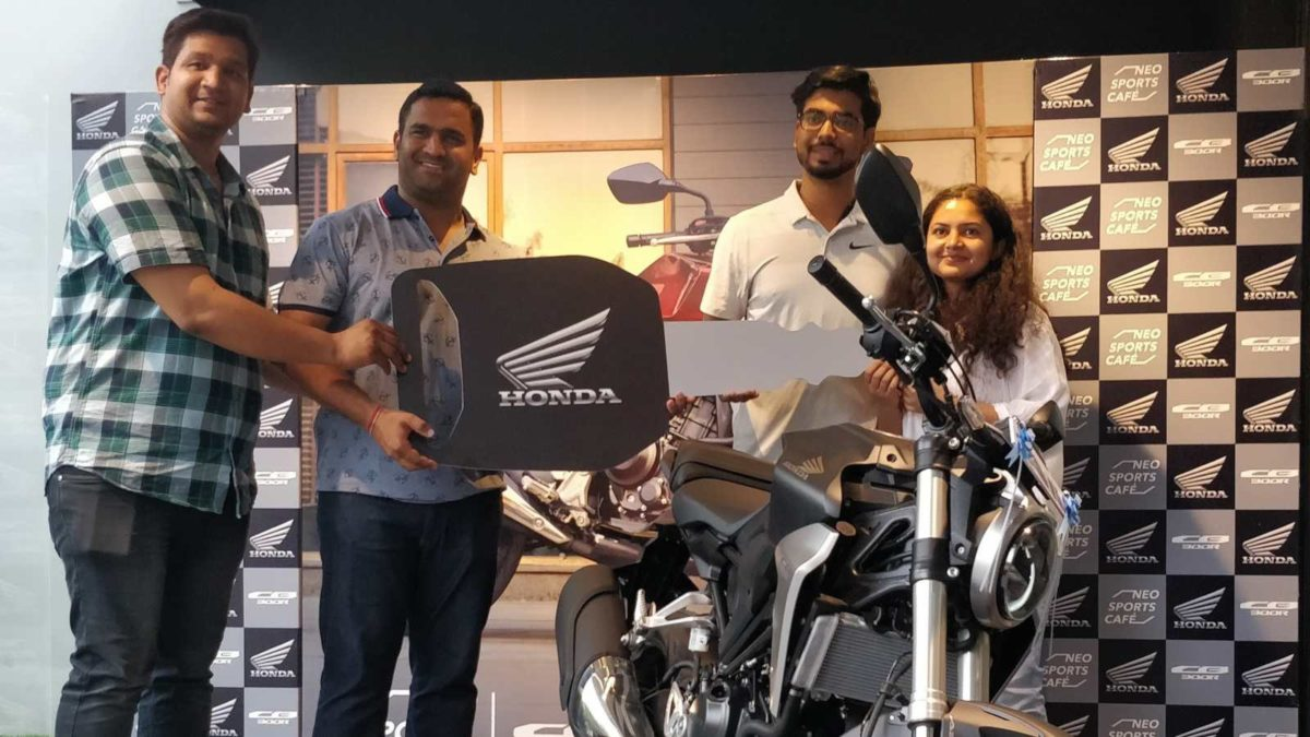 Honda CB300R delivered in Gurugram