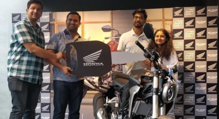 Deliveries of the Honda CB300R Commence