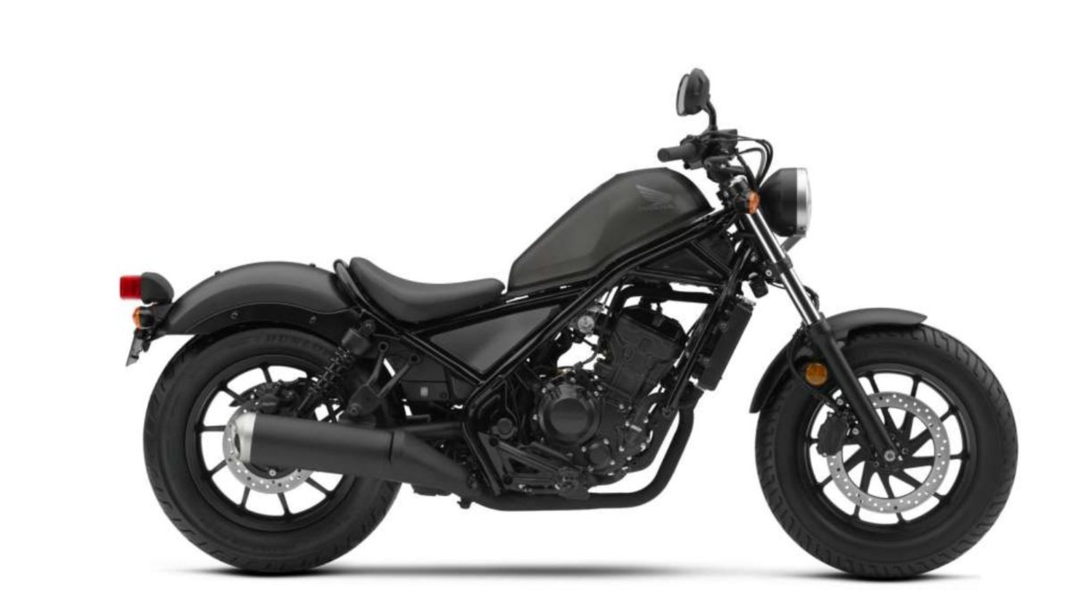 Honda Rebel 300 side black