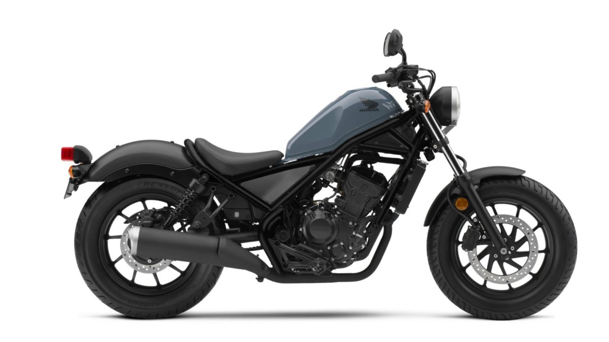 Honda Rebel 300 side view