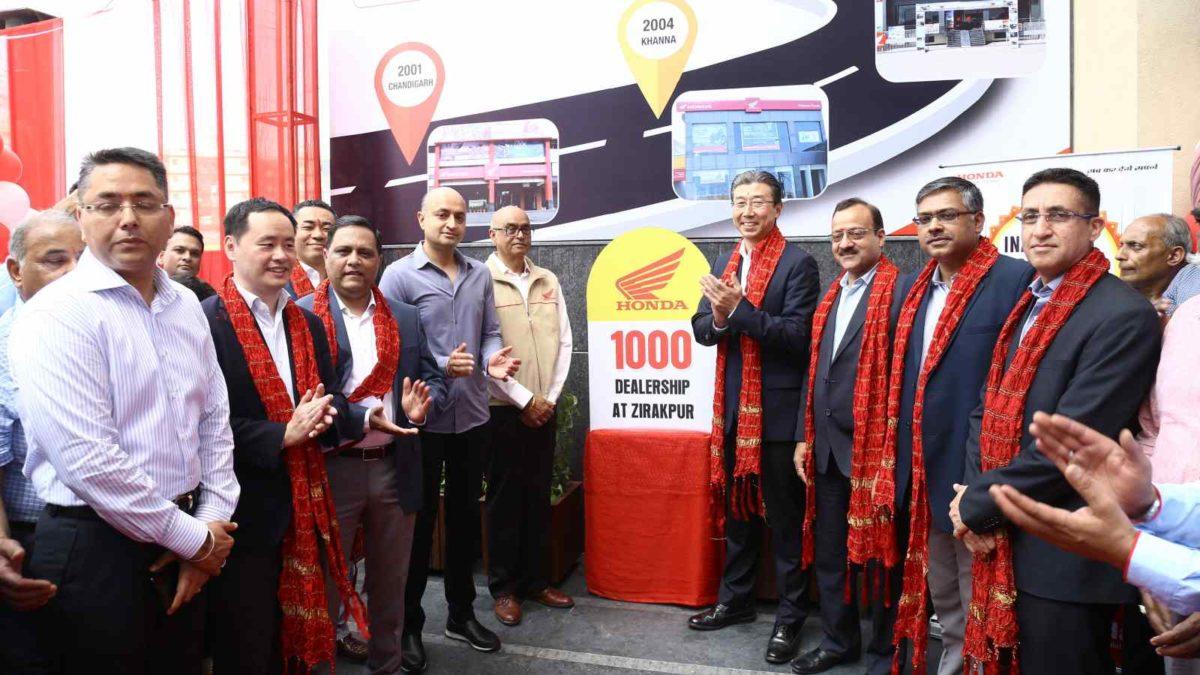 Honda opens 1000th dealership