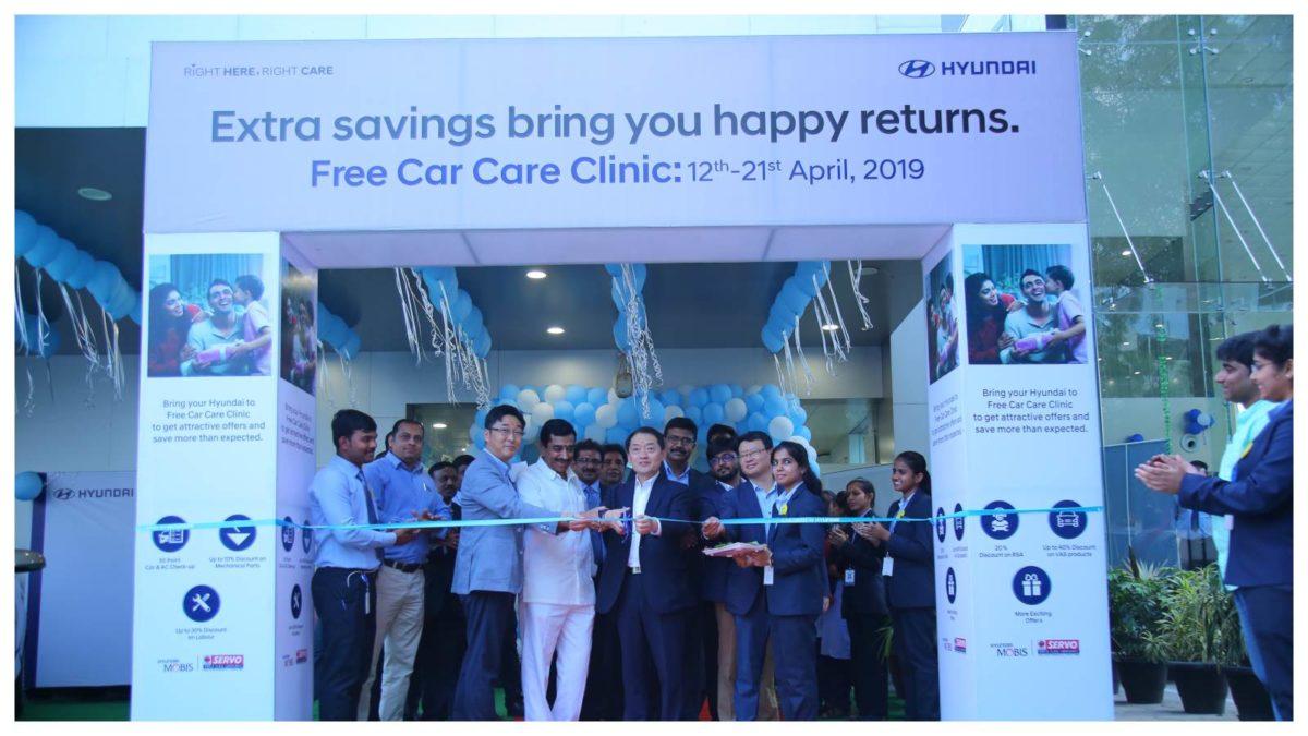 Hyundai Commences Nationwide Free Car Care Clinic