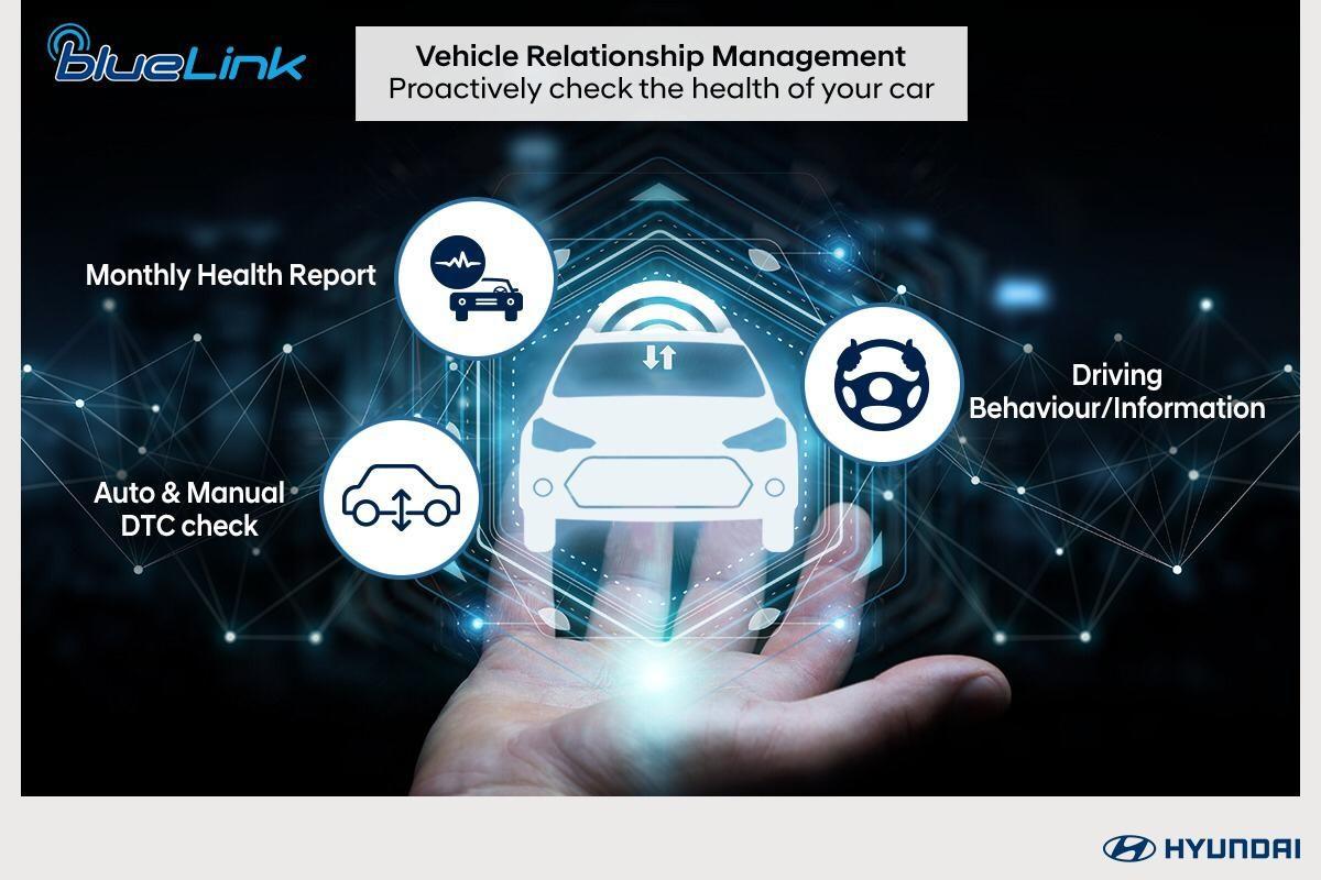 Hyundai Venue BlueLink VRM