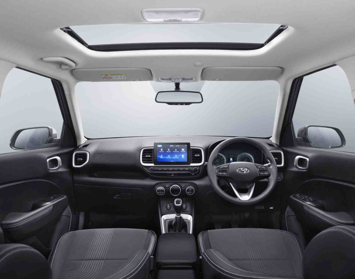 Hyundai Venue cabin