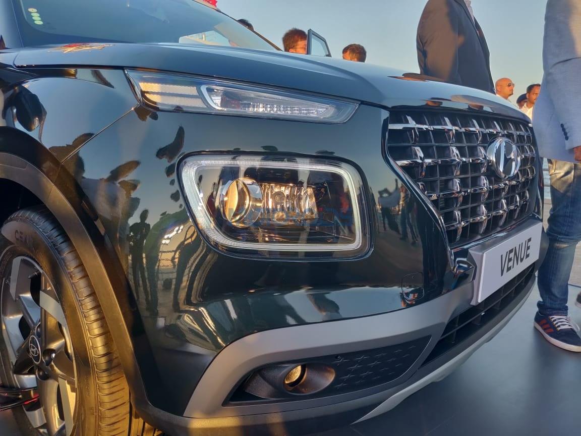 Hyundai Venue front bumper