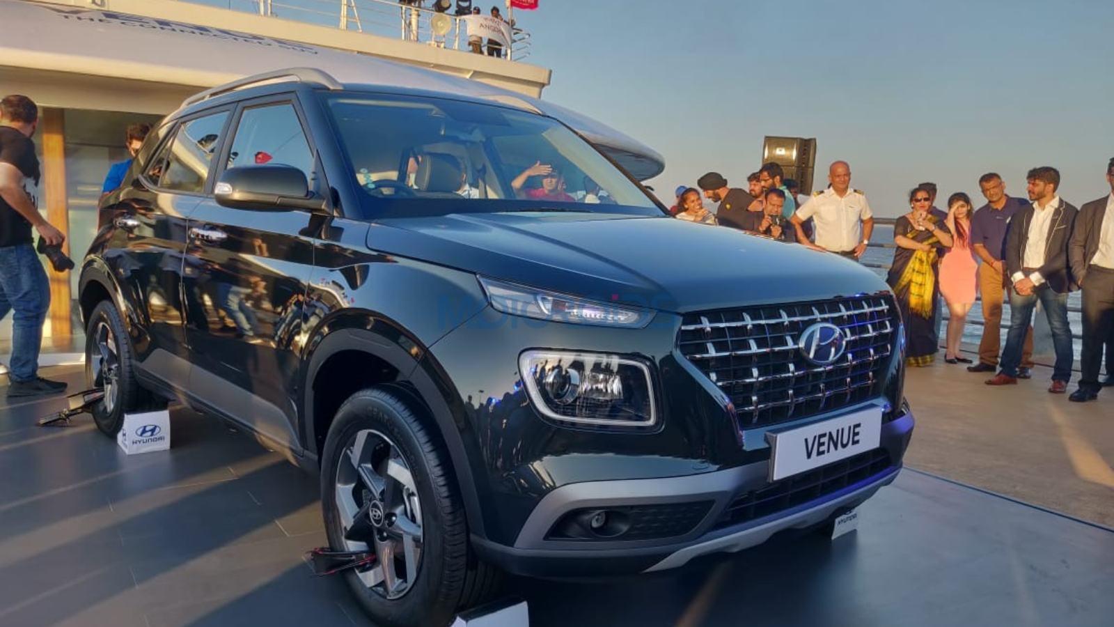 Hyundai Venue Gains Huge Number Of Bookings On Day 1 Motoroids