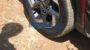 Hyundai Venue spied alloy wheel