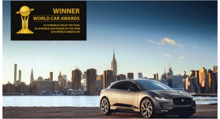 JAGUAR I-PACE WINS Treble