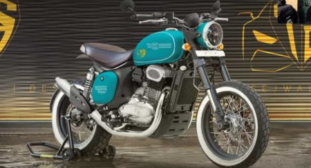 Jawa 42 Imagined As A Retro-Styled Scrambler