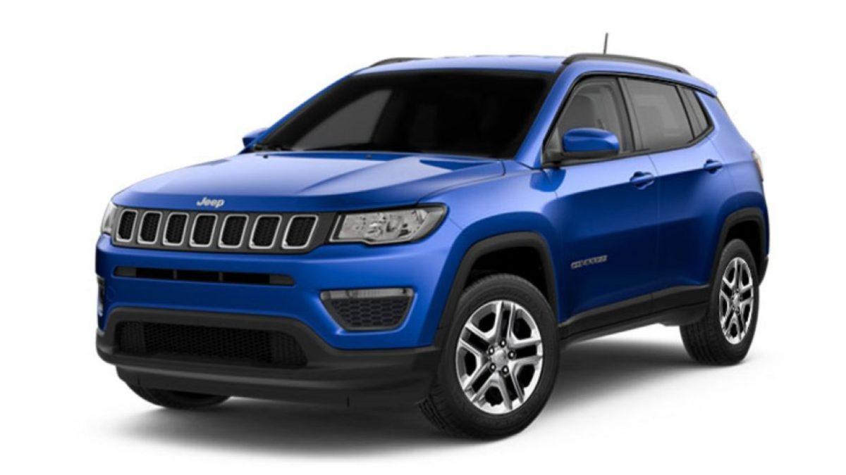 Jeep Compass Sport Plus Hydro Blue