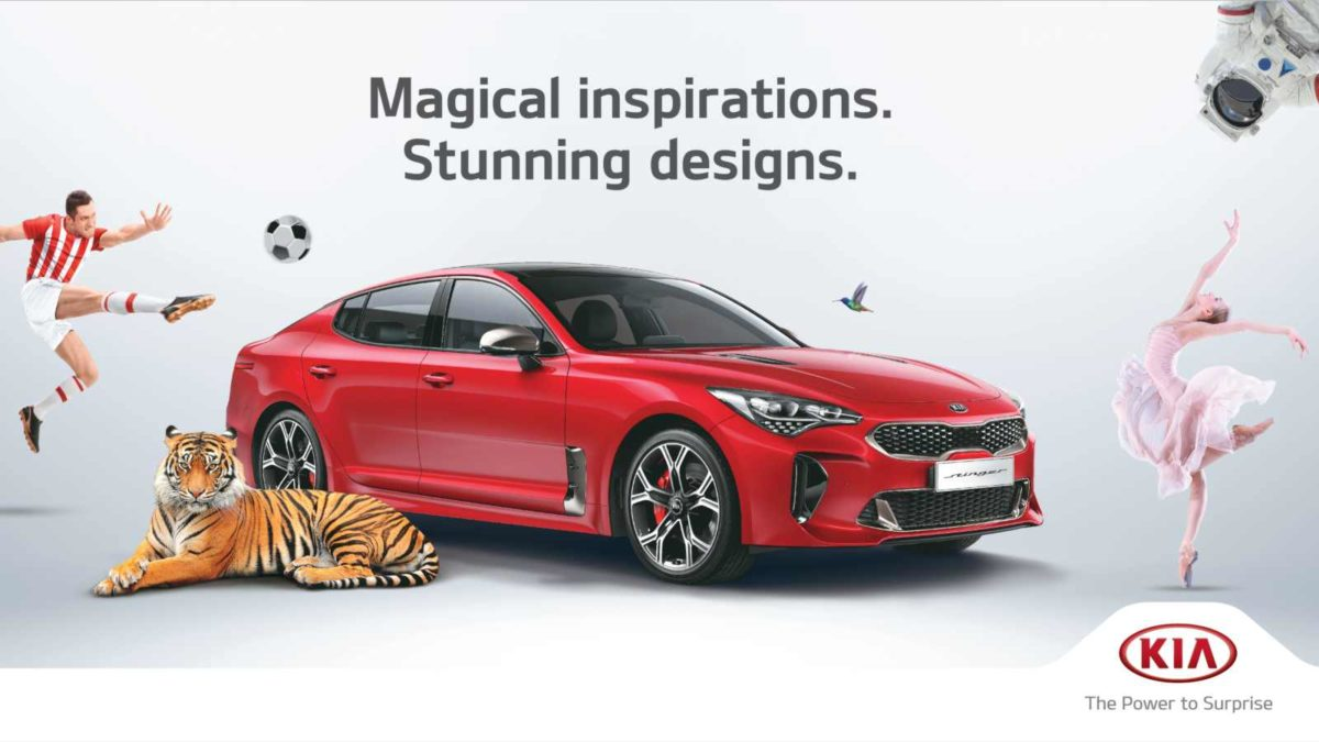 Kia launch campaign featured