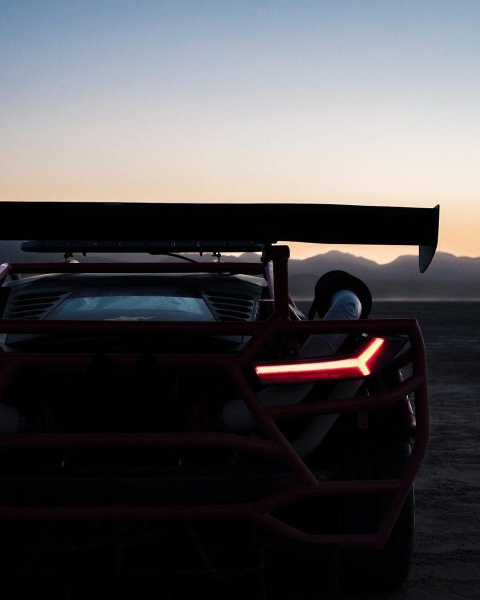 Lamborghini Huracan Rally Car Rear wing