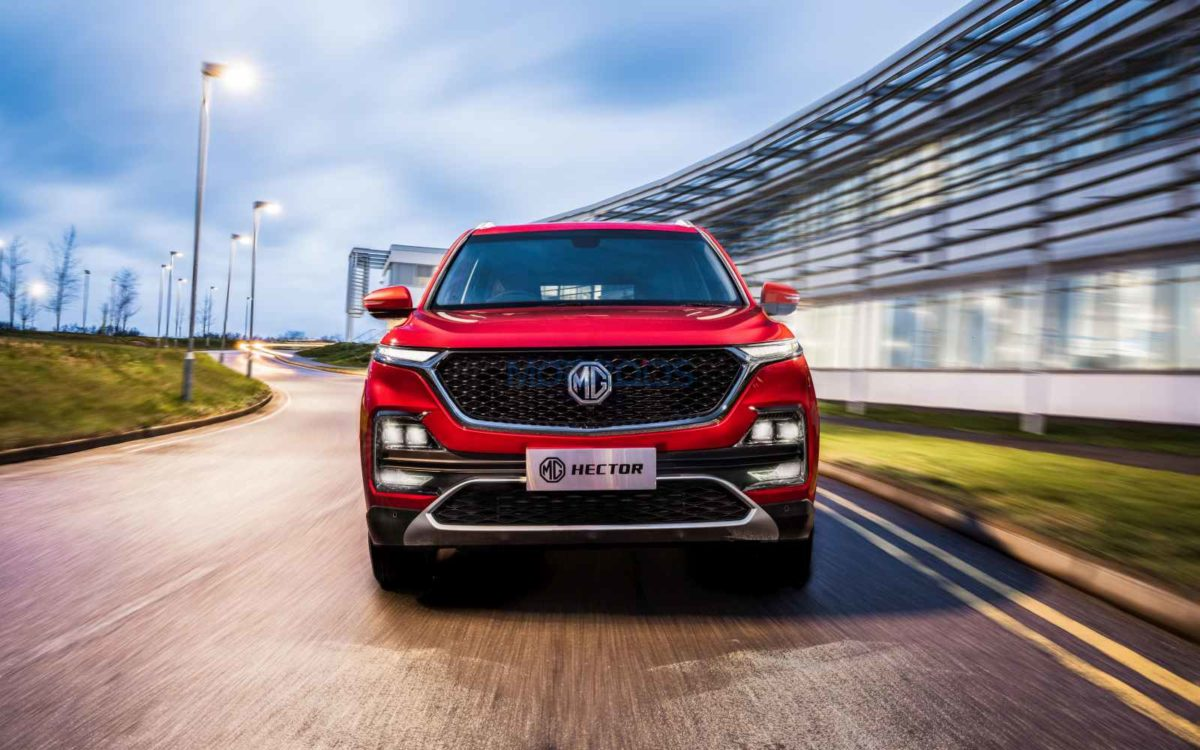 MG Hector – front