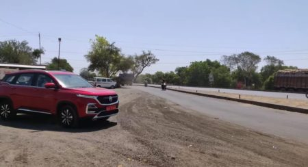 MG Hector Captured Without Any Camouflage In A Video