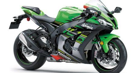 MY 2020 Kawasaki Ninja ZX10-R front quarter