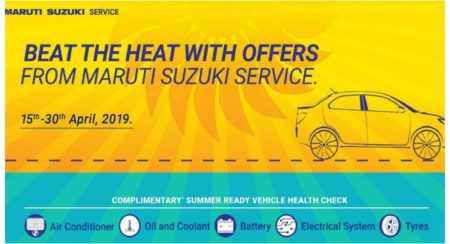 Maruti Summer care camp 2019