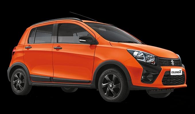 Maruti Suzuki Celerio X side profile