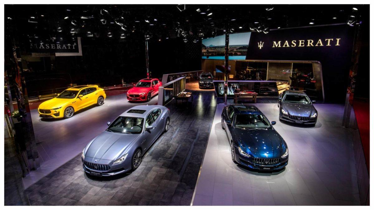 Maserati Stand Shanghai Auto Show 2019