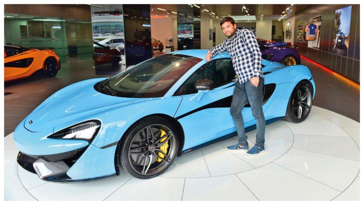 McLaren winner Dubai 1