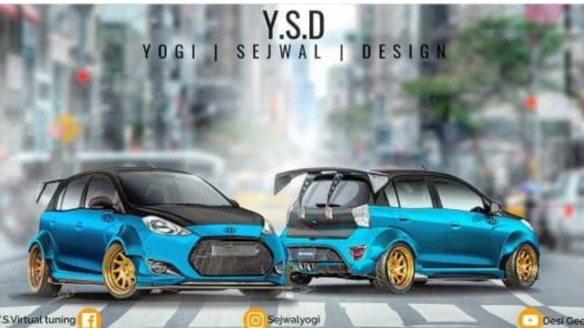 Modified Hyundai Santro YSD
