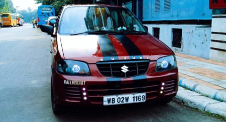 Modified Maruti Alto Hot Hatch