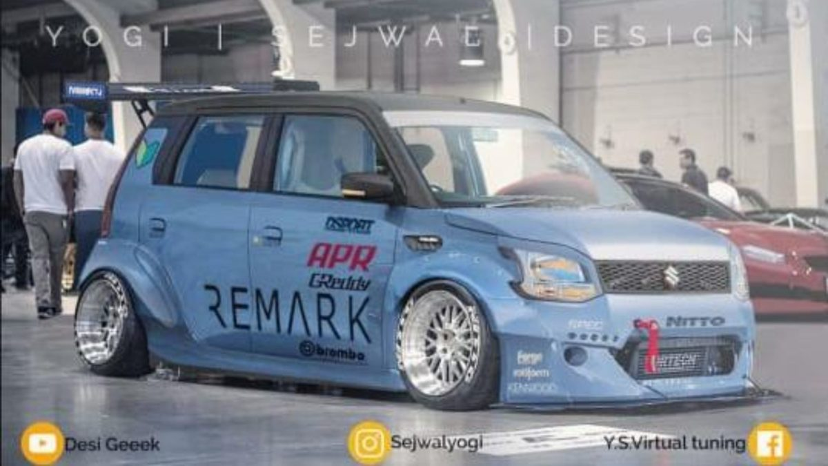 Modified Maruti Suzuki WagonR