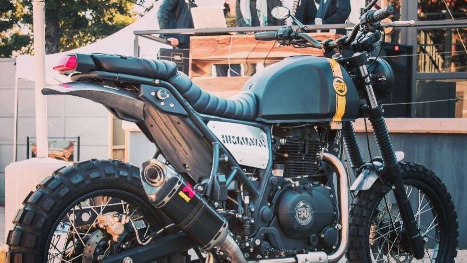 Meet A Modified Royal Enfield Himalayan From The Andes Motoroids