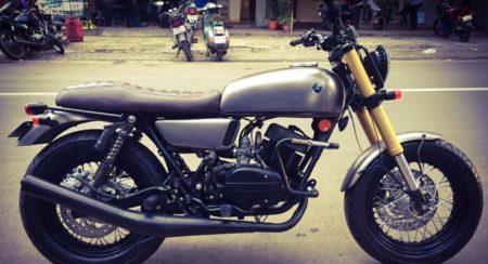 Modified Yamaha RD350