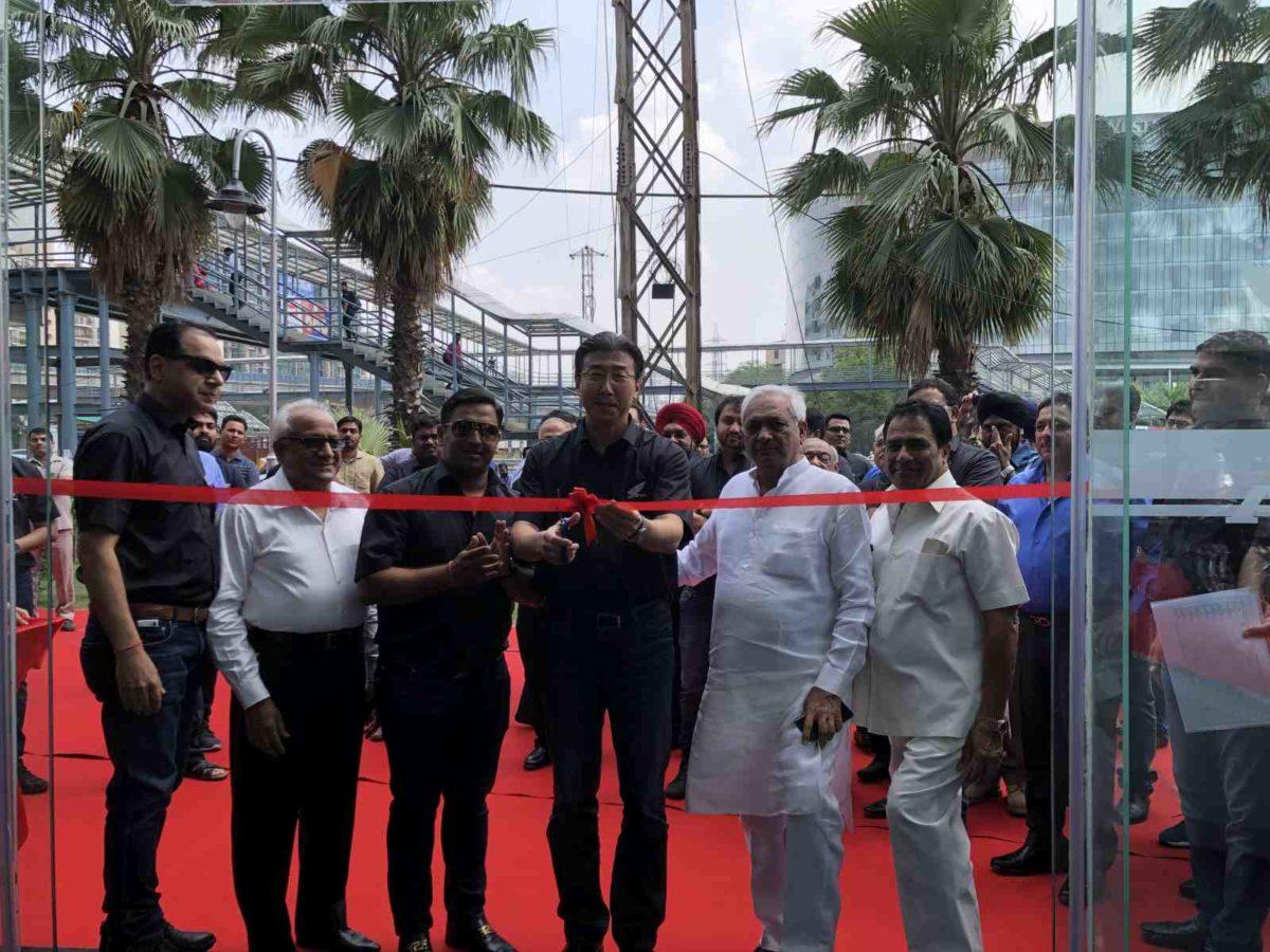 Mr. Minoru Kato, President & CEO (center) & Mr. Yadvinder Singh Guleria…