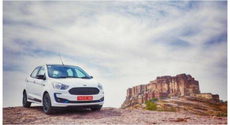 New-Ford-Figo-right-three-quarters hillside