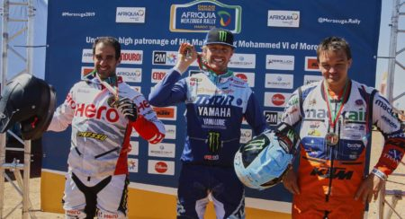 ORIOL MENA FINISHED AT THIRD PLACE IN THE MERZOUGA RALLY 2019